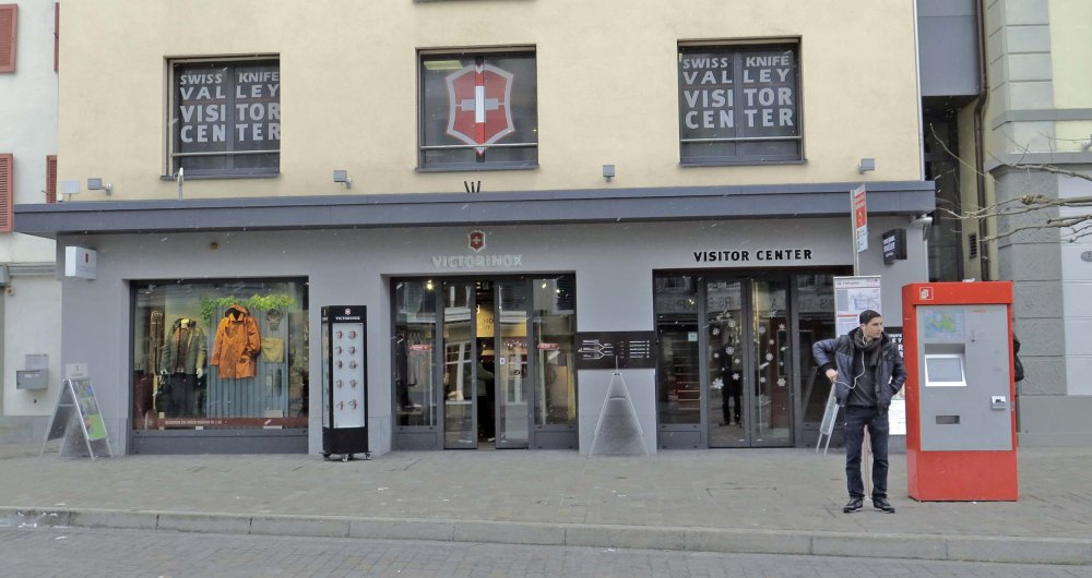 Victorinox Visitor Center aussen
