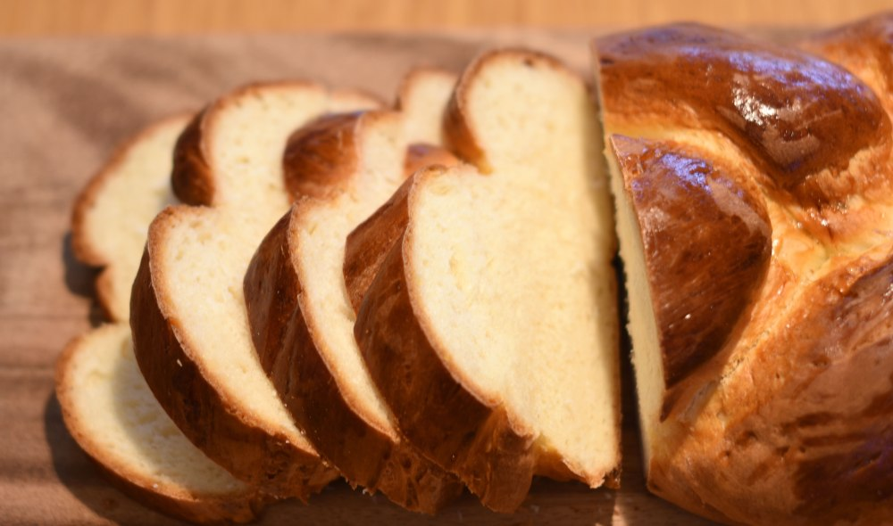 Sunday Zopf bread