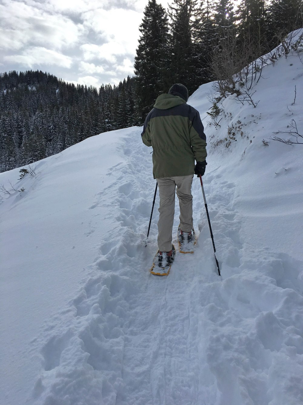 snowshoe-hiking